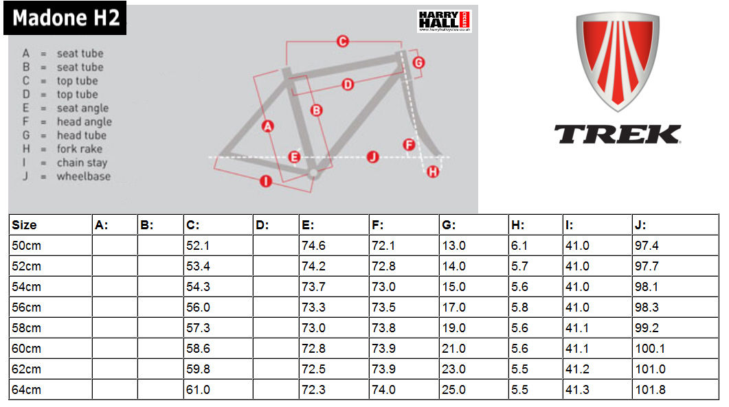 Harry Hall Cycles >> TREK 1.2 ROAD BIKE SIZING - Wroc?awski Informator Internetowy - Wroc?aw, Wroclaw, hotele Wroc?aw ...
