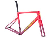 SWORKS Tarmac Disc Frameset 44 Gloss Acid Pink/Acid Purple/Team Yellow/Gravity Fa  click to zoom image