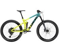 TREK Remedy 8 S Teal to Volt Fade  click to zoom image