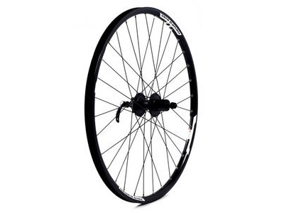 WILKINSON WHEELS Doublewall Rim on Quando Cassette Disc Q/R Hub Rear
