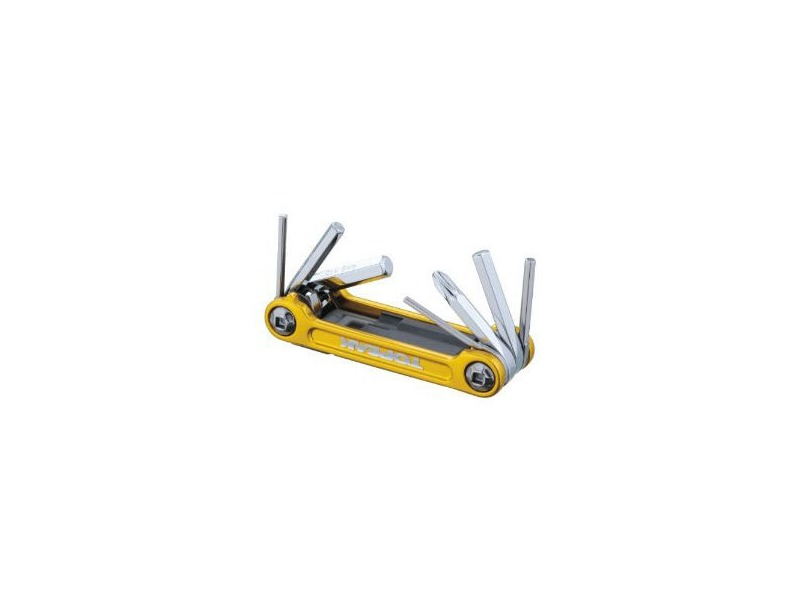 TOPEAK Mini 9 Pro Tool Gold click to zoom image