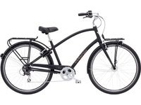 ELECTRA Townie Commute 8D Mens  Black  click to zoom image