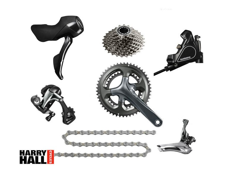 SHIMANO Tiagra Groupset Disc Hydraulic click to zoom image