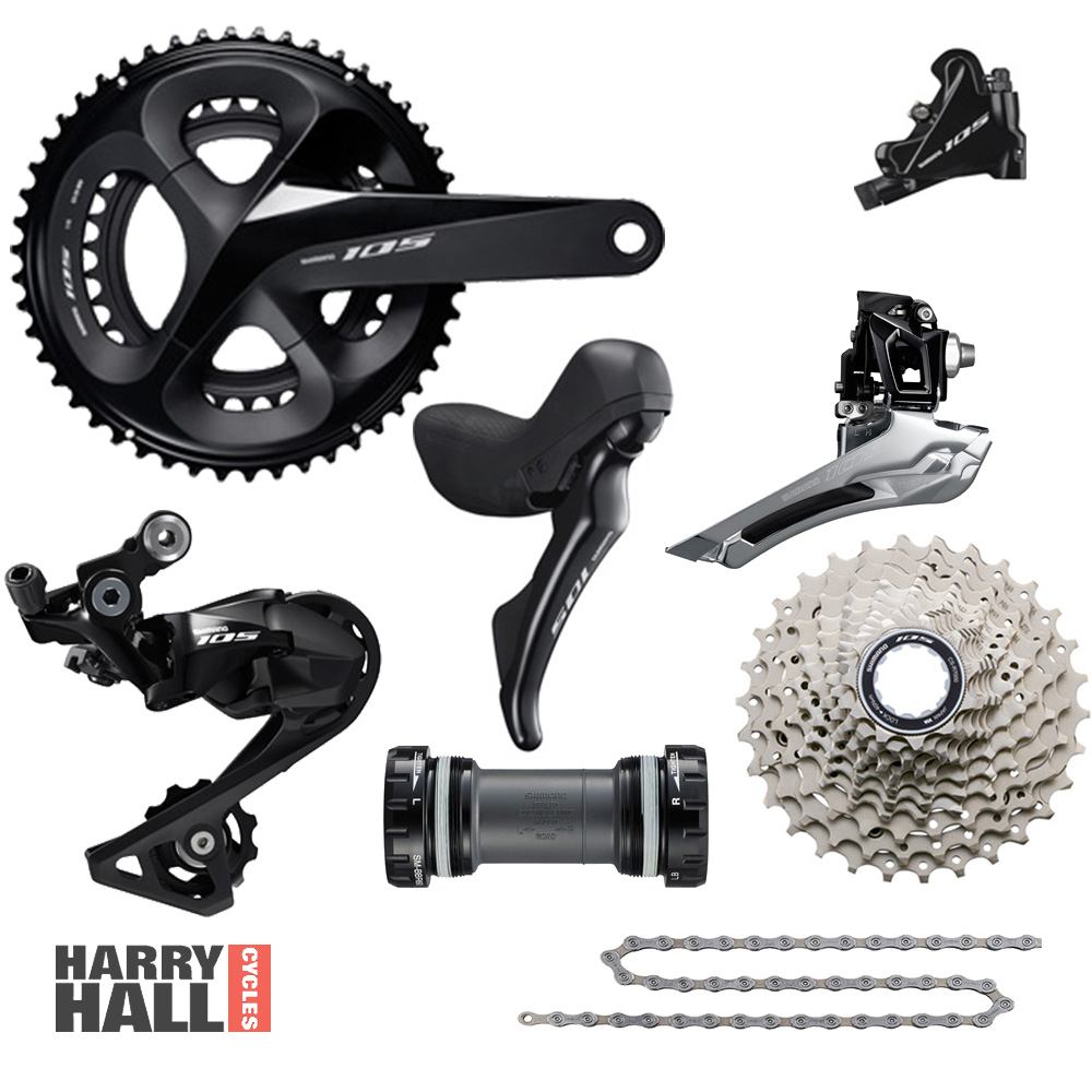 ef59045f1f0 SHIMANO 105 (R7020) Groupset Disc Hydraulic :: £599.00 :: Group Sets ...