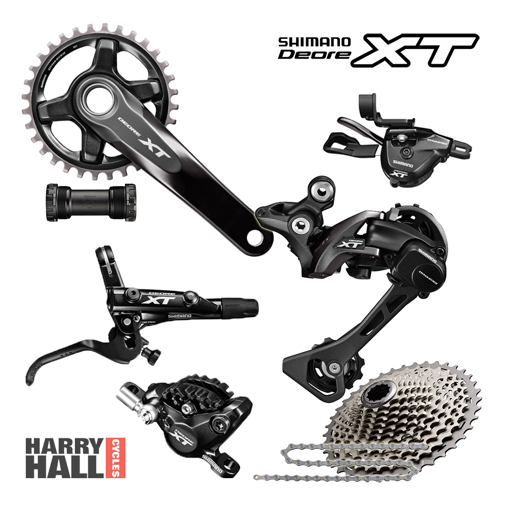 Harry Hall Cycles >> SHIMANO XT Drivetrain & Brakes 1x11 :: £475.00 :: Group Sets :: Mountain Bike