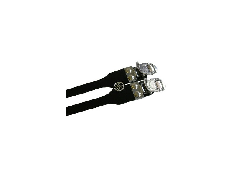MKS Alpha Double Toe Strap click to zoom image