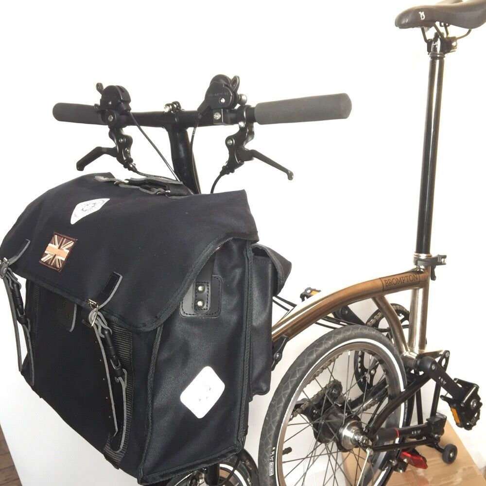 Harry Hall Cycles >> CARRADICE City Folder M Union Jack :: £105.00 :: Brompton Parts :: Bags