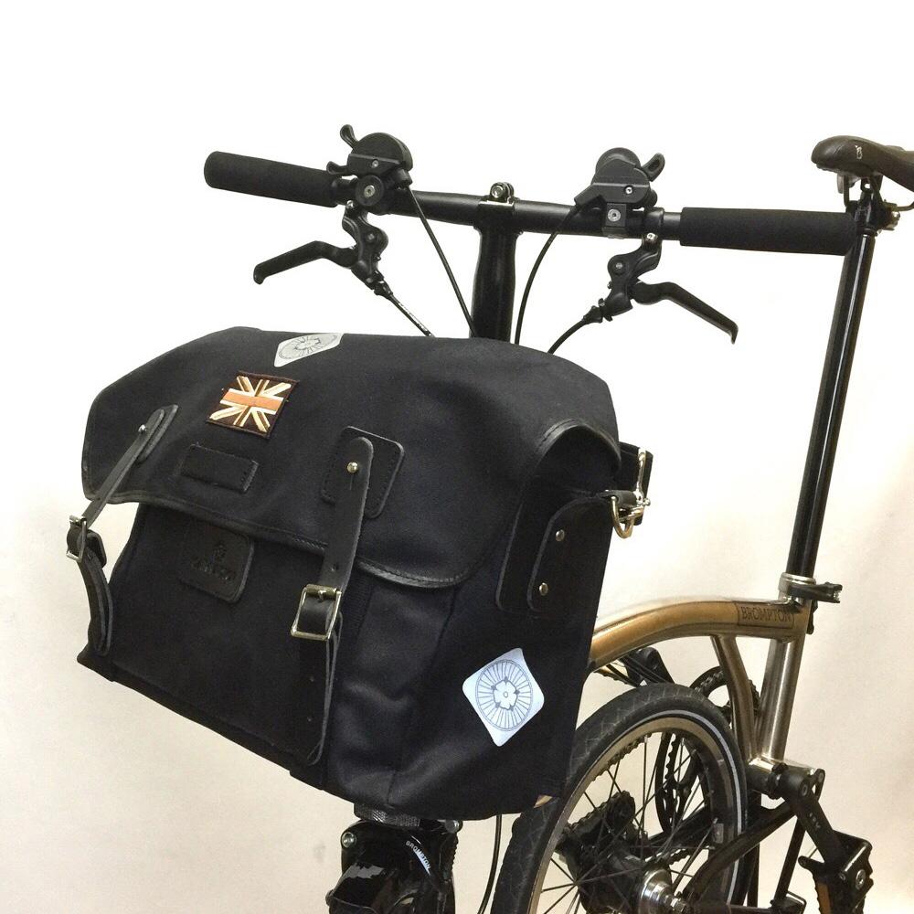 Harry Hall Cycles >> CARRADICE Stockport City Folder Union Jack :: £135.00 :: Brompton Parts :: Bags