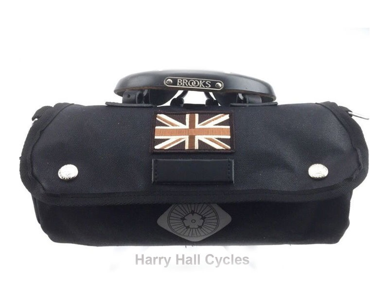CARRADICE Zip Roll Blk Union Jack click to zoom image