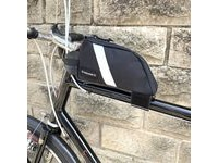 CARRADICE BikePacking Top Tube Bag  Black  click to zoom image