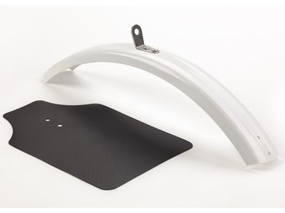 BROMPTON Mudguard Blade Front White