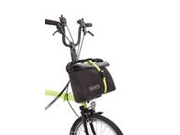 BROMPTON Roll Top Bag Grey click to zoom image