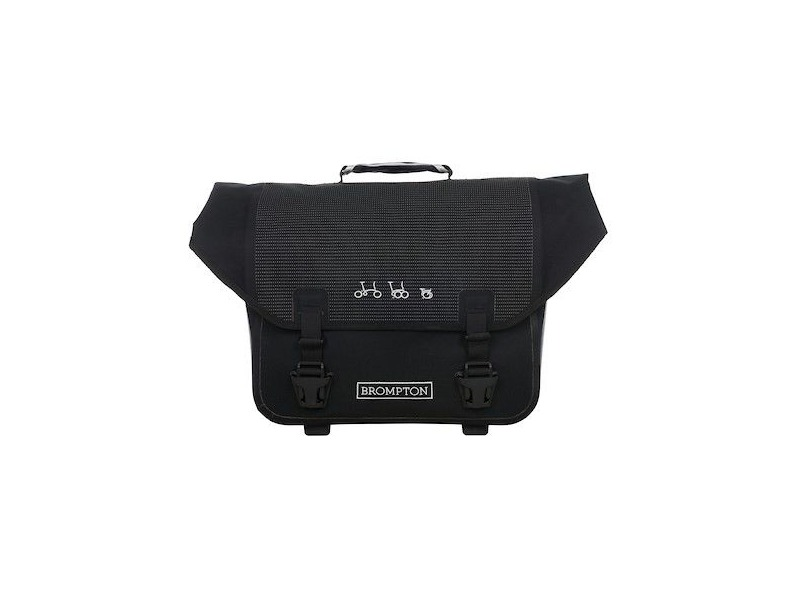 BROMPTON O Bag (Reflective Black) click to zoom image