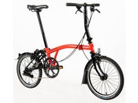 BROMPTON S2-L Black Edition  Red  click to zoom image