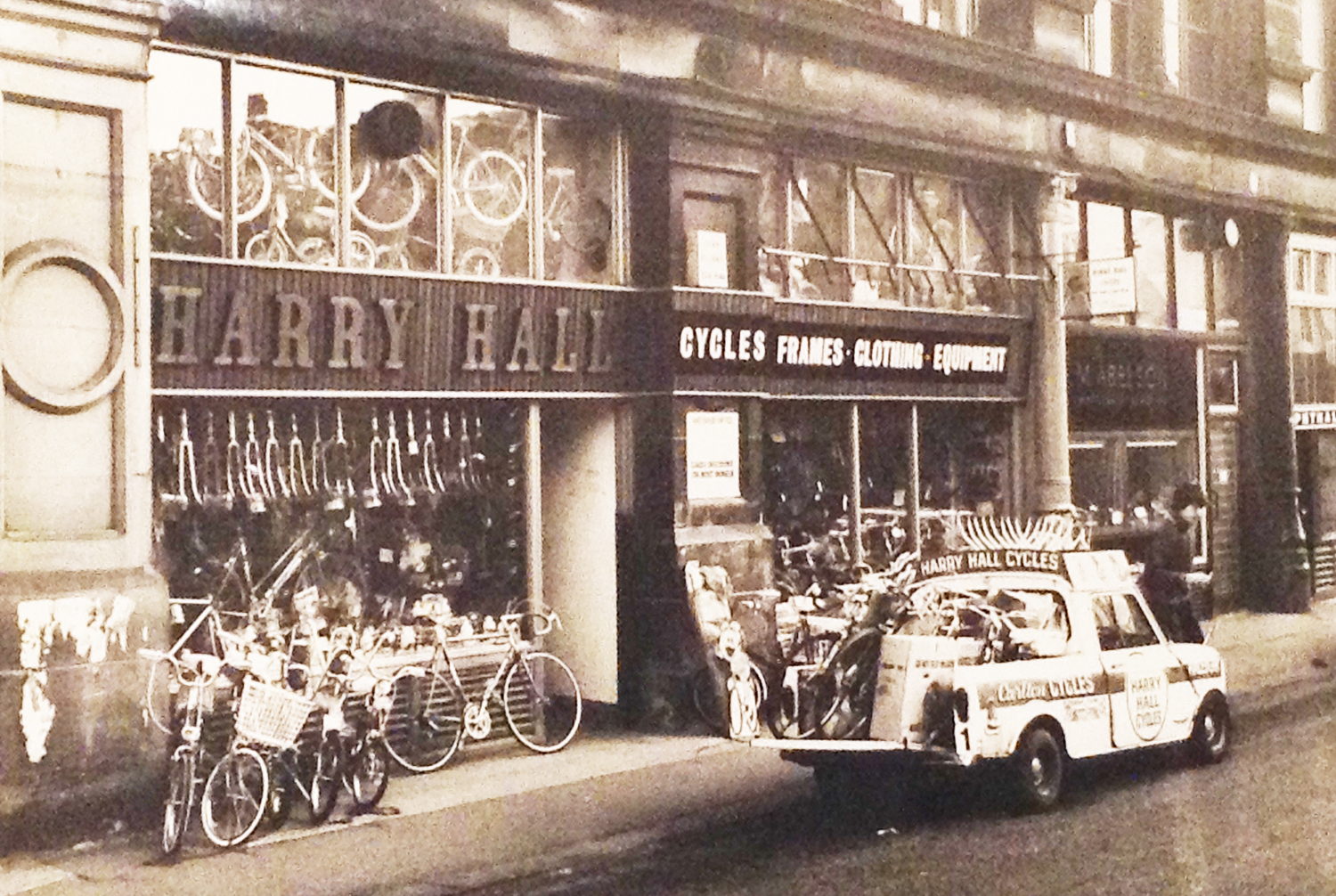 Harry Halls Cycles: